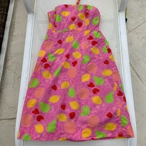 Lilly Pulitzer Sabrina Dress in Marzipan Size 8